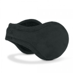 180s Ear Warmers Metro Faux Suede - Men's Black