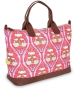 Amy Butler Marni Duffel Bag,Passion Lily Tangerine,one size