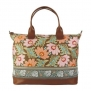 Amy Butler for Kalencom Marni Fashion Bag without Ribbon (Chocolate Fern Flower)