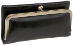 Hobo  Rachel Tri-Fold Wallet,Black,one size