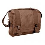 Rothco Vintage Canvas B-15 Pilot Messenger Bag in Brown