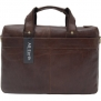 AB Earth New Vintage Leather Men's Briefcase Handbag ipad Kindle Messenger Bag,M5