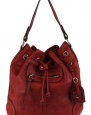 Scarleton Large Drawstring Handbag H107810 - Red