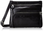 HOBO Cassie Small Cross Body Bag,Black,One Size