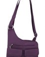 Travelon Luggage Anti-Theft Cross-Body Bag, Purple, One Size