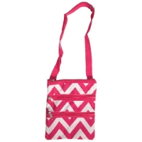 Best Affordable Teenage Pink Chevron Messenger Bag Stocking Stuffer ...