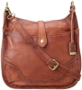 FRYE Campus Cross-Body Handbag,Saddle,One Size