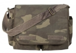 Camouflage Classic Army Messenger Heavy Weight Shoulder Bag