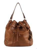 Scarleton Large Drawstring Handbag H107804 - Brown