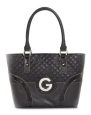 G by GUESS Women's Teige Carryall, BLACK