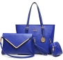 Buenocn Women Large Capacity Handbags Casual Leisure Handbag for Women Ls1133 (SHY682 blue)