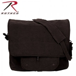 Rothco Vintage Canvas Paratrooper Bag, Black