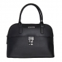 Kenneth Cole Reaction KN1366 Astrodome Saffiano Satchel (BK)