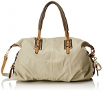 MG Collection Acacia Large Everyday Shopper Shoulder Bag, Nude, One Size